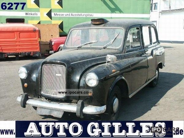 Austin  FX4 - Engl. Vintage Taxi 1976 Vintage, Classic and Old Cars photo
