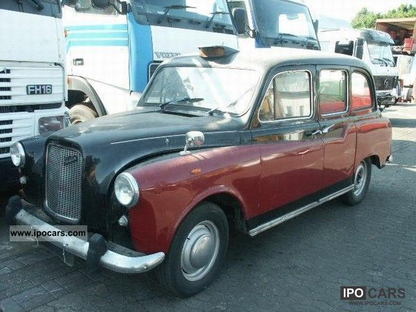 Austin  FX4 English. Vintage Taxi 1970 Vintage, Classic and Old Cars photo