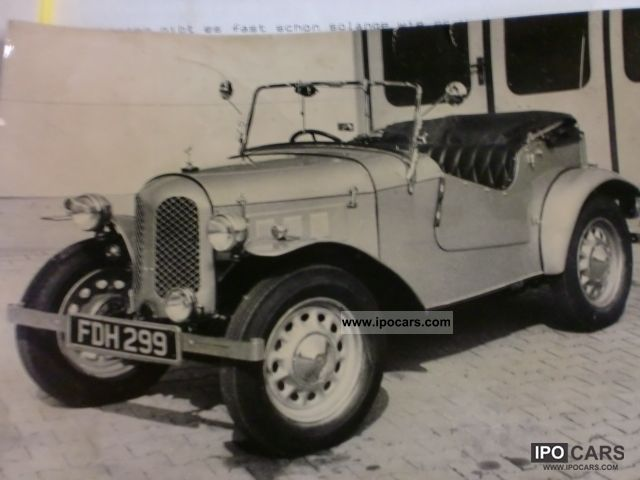 Austin  Seven 7 Roadster year 1938 \ 1938 Vintage, Classic and Old Cars photo
