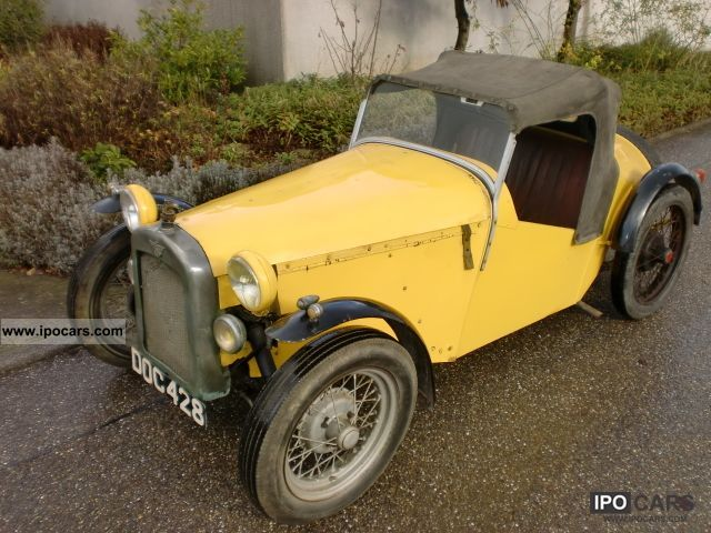 Austin  Seven 7 Special Roadster from 1937 1937 Vintage, Classic and Old Cars photo