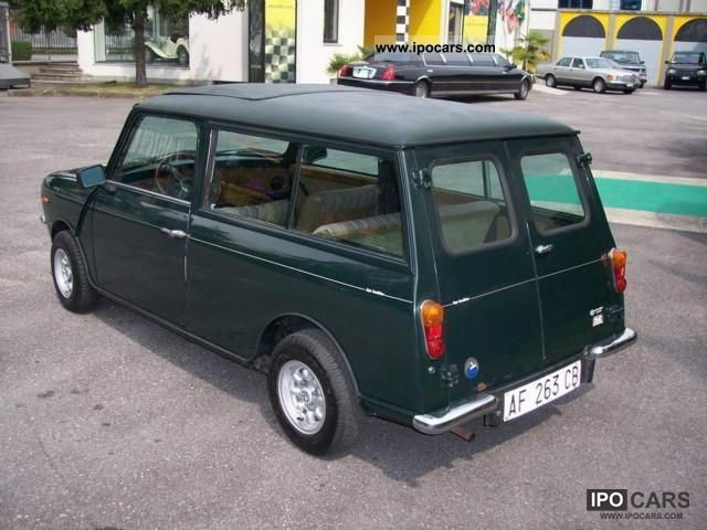 1981 austin mini clubman estate 1000 car photo and specs. Black Bedroom Furniture Sets. Home Design Ideas