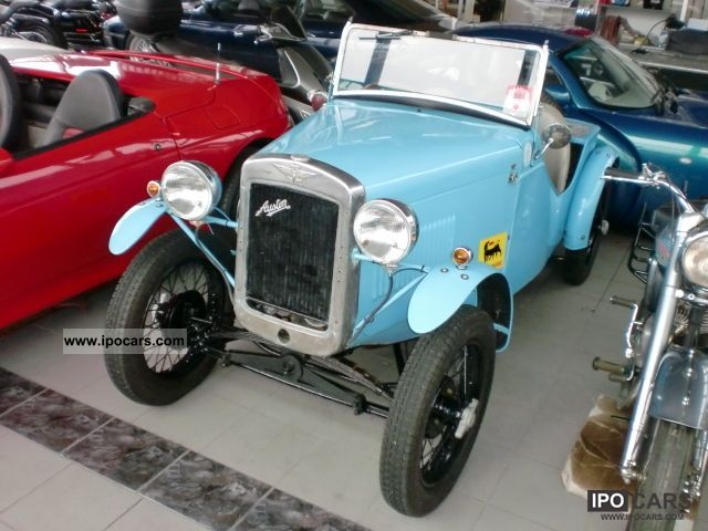 Austin  Seven 7 roadster 1935 \ 1935 Vintage, Classic and Old Cars photo