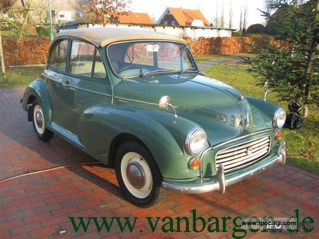 Austin  Morris Minor Convertible 1965 Vintage, Classic and Old Cars photo