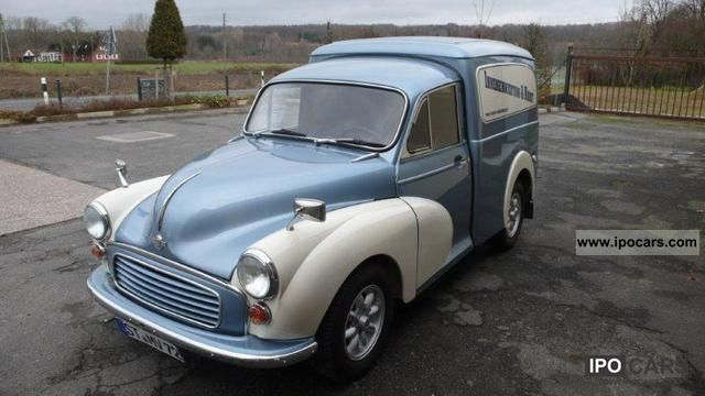 Austin  Morris Minor Van 1972 Vintage, Classic and Old Cars photo