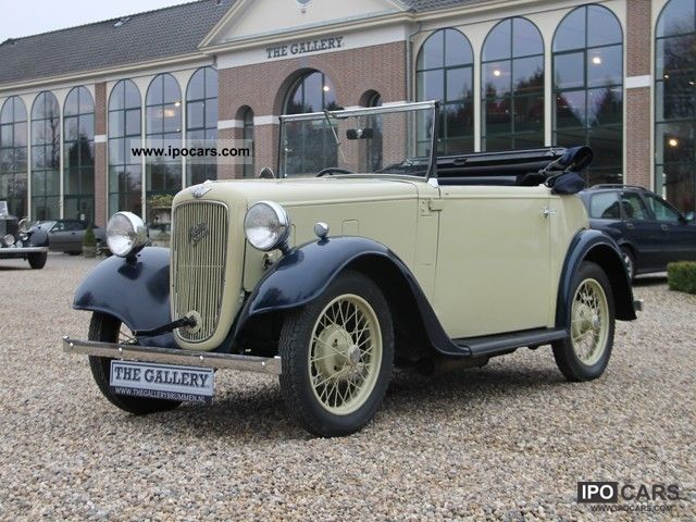 Austin  Seven Convertible 1935 Vintage, Classic and Old Cars photo