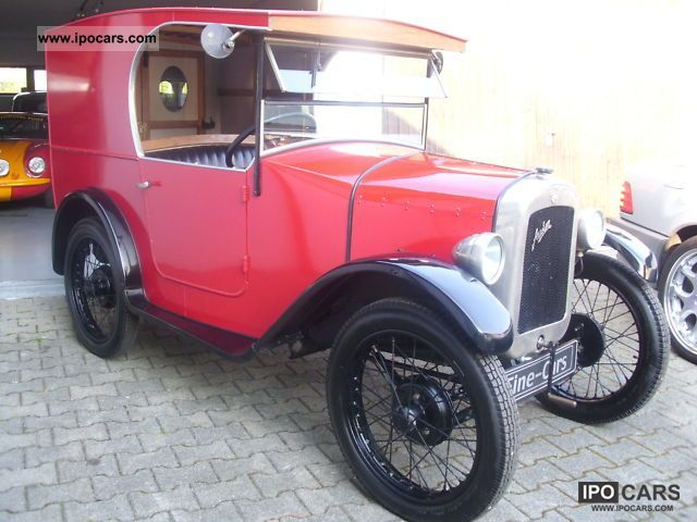 Austin  7-H VAN RESTORED READY TO RIDE APPROVED U.VOLL 1929 Vintage, Classic and Old Cars photo