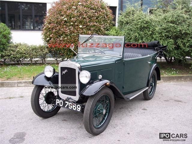 Austin  MK SEVEN TOURER RHD 1931 Vintage, Classic and Old Cars photo