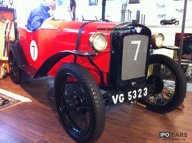 Austin  SEVEN-7-boattail-RACE CAR-top shape 1933 Race Cars photo
