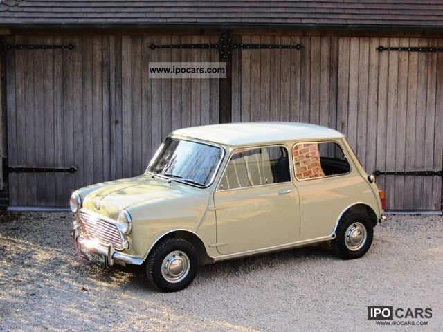 Austin  Mini Cooper S Mk2 1968 Vintage, Classic and Old Cars photo