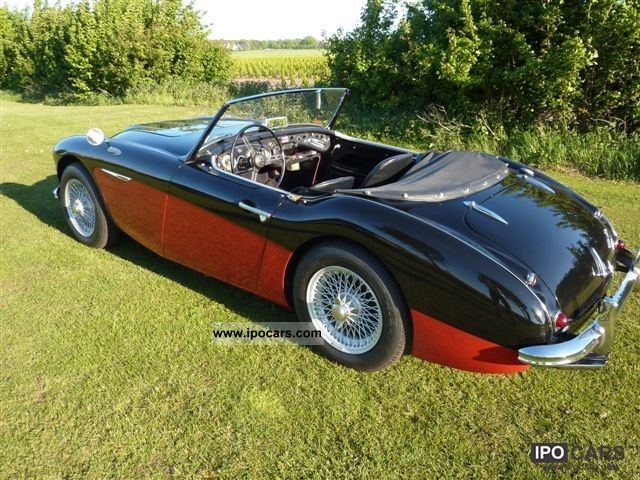 Austin  Healey Healey 100 Six 1957 Vintage, Classic and Old Cars photo
