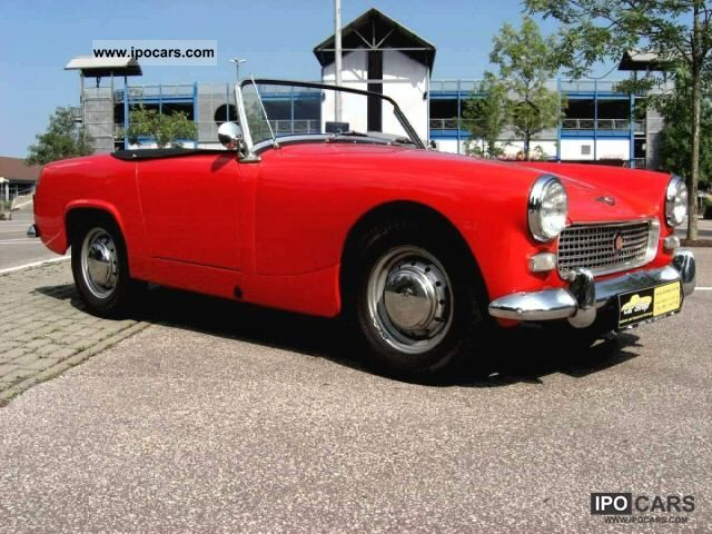 Austin Healey  Sprite MK II 948ccm 1962 Vintage, Classic and Old Cars photo