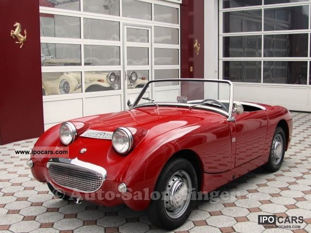 1959 Austin Healey  Sprite Mark I ZFroschaugeZ Cabrio / roadster Classic Vehicle photo
