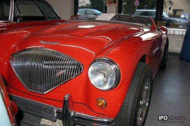 Austin Healey  100 3,5 liter Rover engine 1953 Vintage, Classic and Old Cars photo