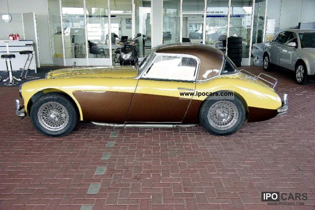 Austin Healey  3000 MKI with hardtop BJ. 1959 1959 Vintage, Classic and Old Cars photo