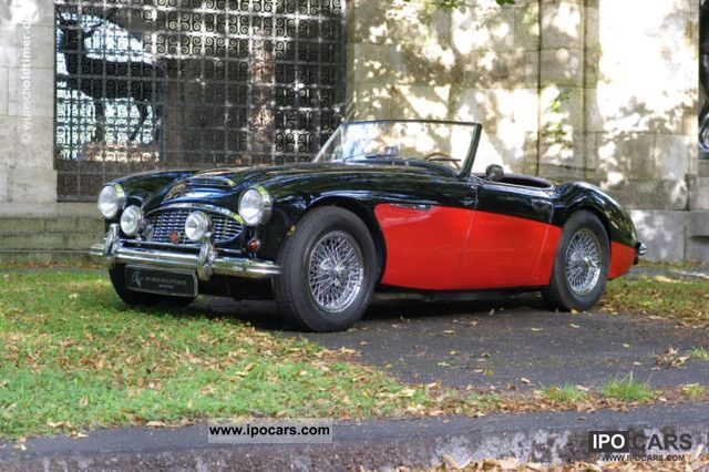 Austin Healey  3000 BN7 BN8 Roadster 148 hp with OD, LHD 1960 Vintage, Classic and Old Cars photo