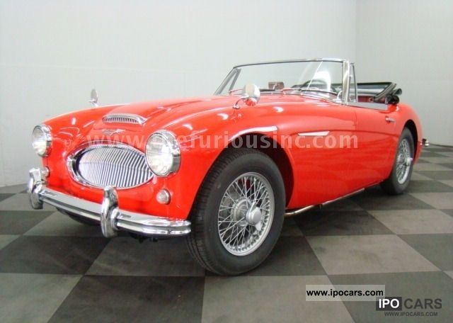 Austin Healey  MkII, BJ7, MATCHING # s, PERFECT CONDI & GREAT PRICE! 1963 Vintage, Classic and Old Cars photo