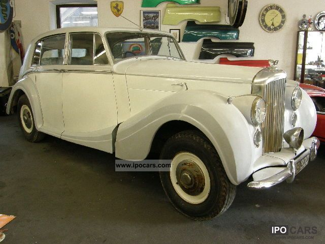 Bentley  MK VI Aluminum Body H.J. Mulliner - for restoration 1951 Vintage, Classic and Old Cars photo