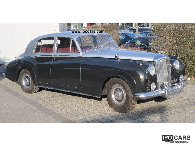 Bentley  S1 Saloon Auto-Body Steel Leather Picnic 1956 Vintage, Classic and Old Cars photo