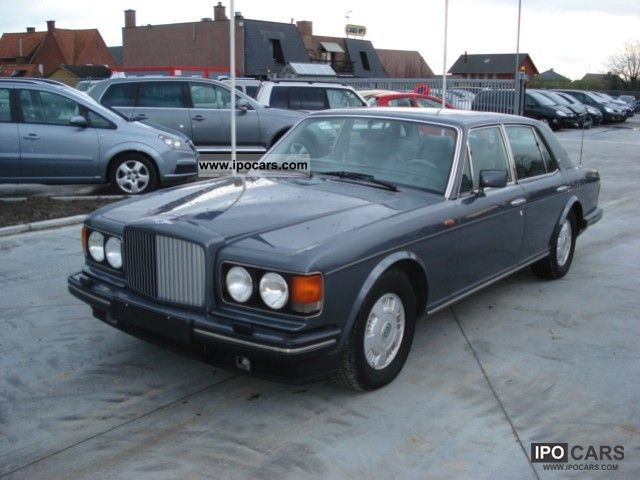 1992 Bentley MULSANNE  Car Photo and Specs