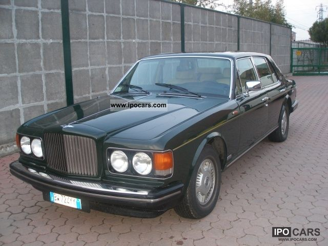 Bentley Mulsanne Turbo R KM.98000 TUTTI I TAGLIANDI BENT 1983 Used ...