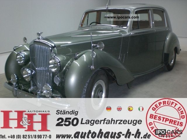 Bentley  MARK VI | CONDITION ORIGINAL | ORIGINAL CONDITION 1952 Vintage, Classic and Old Cars photo