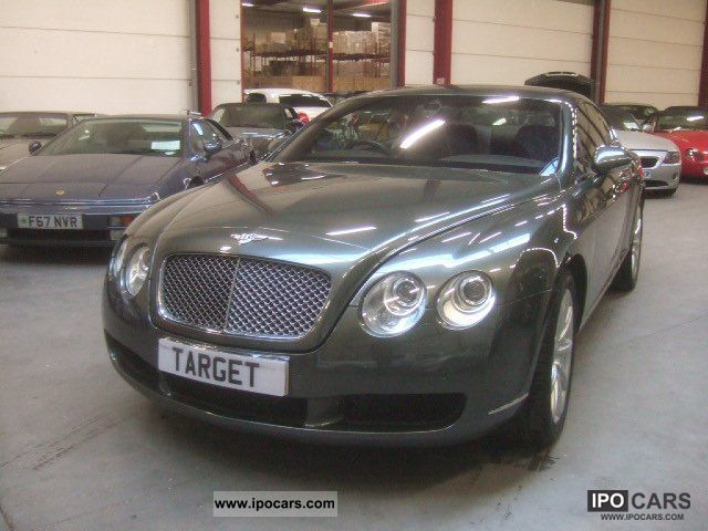 2004 bentley continental gt excellent condition. Black Bedroom Furniture Sets. Home Design Ideas