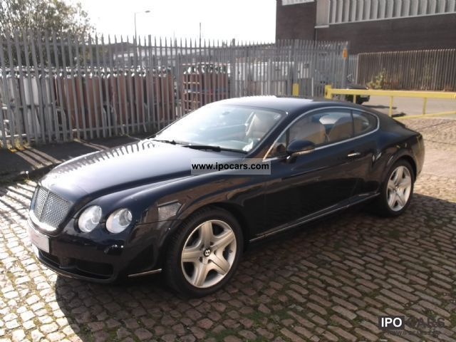 2004 bentley continental gt leather climate 52800 km. Black Bedroom Furniture Sets. Home Design Ideas