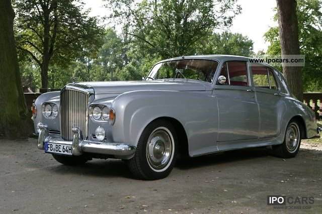 Bentley  S 3 \ 1964 Vintage, Classic and Old Cars photo