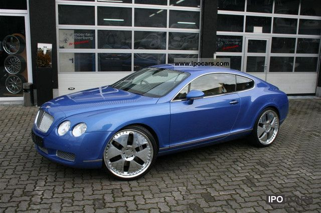 2004 bentley continental gt sports car coupe used vehicle photo 8. Cars Review. Best American Auto & Cars Review