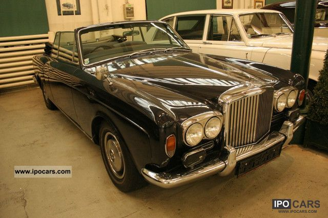 Bentley  Corniche Convertible 1972 Vintage, Classic and Old Cars photo