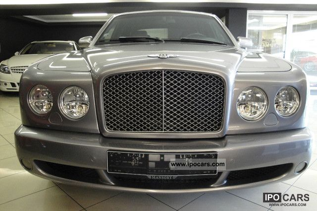 2005 Bentley  Arnage T / Mulliner / navigation / top condition / Limousine Used vehicle photo