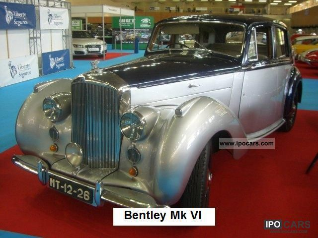 Bentley  Mk VI 1949 Vintage, Classic and Old Cars photo