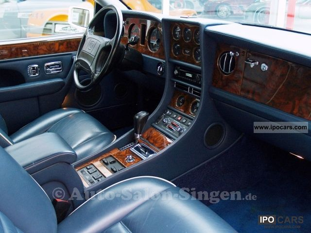 1992 Bentley Continental R  Car Photo and Specs