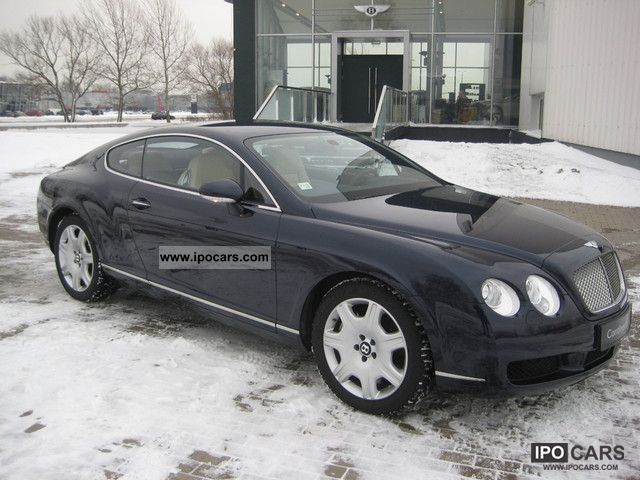 2007 Bentley Continental GT Sports car/Coupe Used vehicle photo