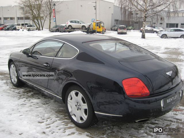 2007 Bentley Continental GT  Car Photo and Specs