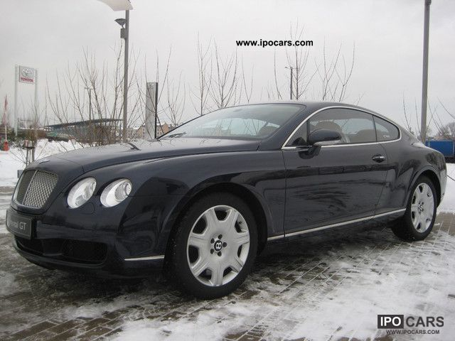 2007 bentley continental gt sports car coupe used vehicle photo 3. Cars Review. Best American Auto & Cars Review