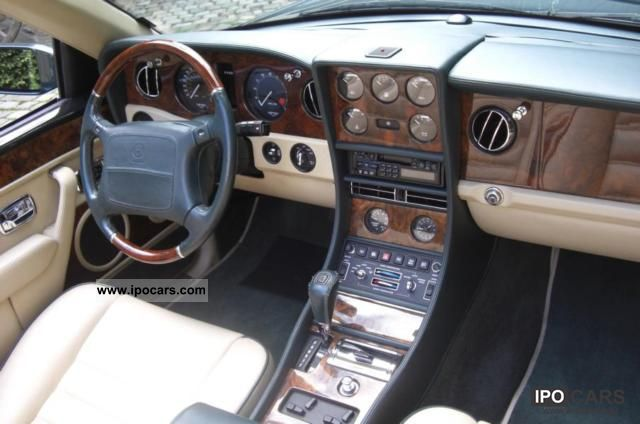 1997 bentley azure car photo and specs