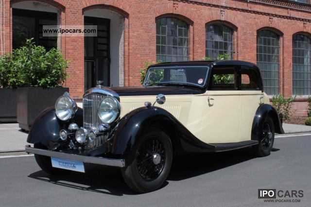 Bentley  4 1/4 Litre Park Ward Saloon light sports 1937 Vintage, Classic and Old Cars photo