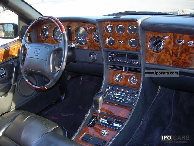 1992 Bentley Continental  Car Photo and Specs