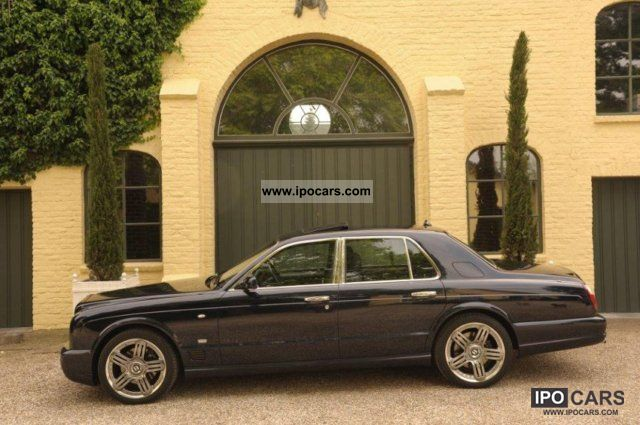 2007 bentley arnage t mulliner my 2007 - car photo and specs