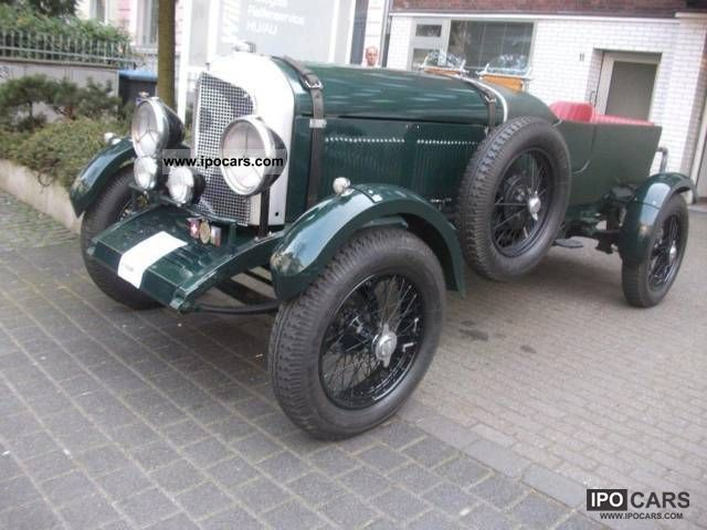 Bentley  Open Tourer 8 cylinder - 6.5 liters! \ 1936 Vintage, Classic and Old Cars photo