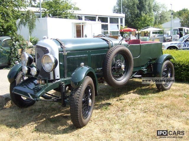 Bentley  V8 Special Open Tourer 1936 Vintage, Classic and Old Cars photo