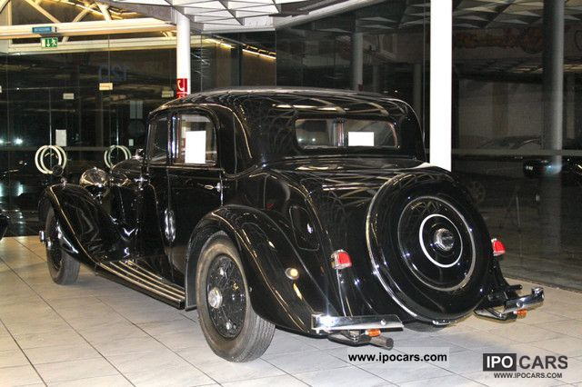 Bentley  3.5 Litre Saloon TOPZUSTAND 1935 Vintage, Classic and Old Cars photo