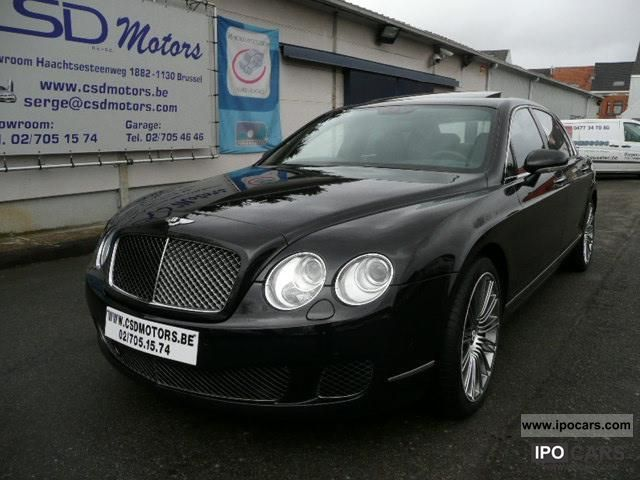2009 bentley continental flying spur black edition 17 553 km car photo and specs. Black Bedroom Furniture Sets. Home Design Ideas