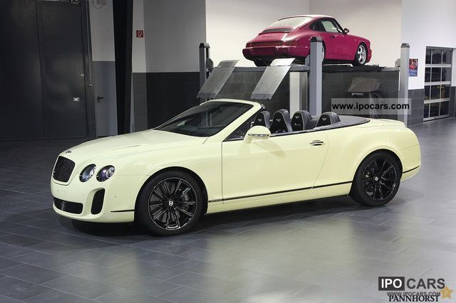 2010 Bentley Supersports Convertible Ex Ceo Of Bentley