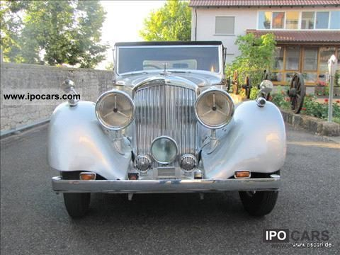 1938 Bentley  4 1/4 Vanden Plas Drophead Coupe Cabrio / roadster Classic Vehicle photo