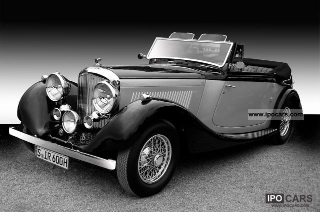 Bentley  4 1/4 Litre Drophead Coupe V.den Plas 1937 Vintage, Classic and Old Cars photo