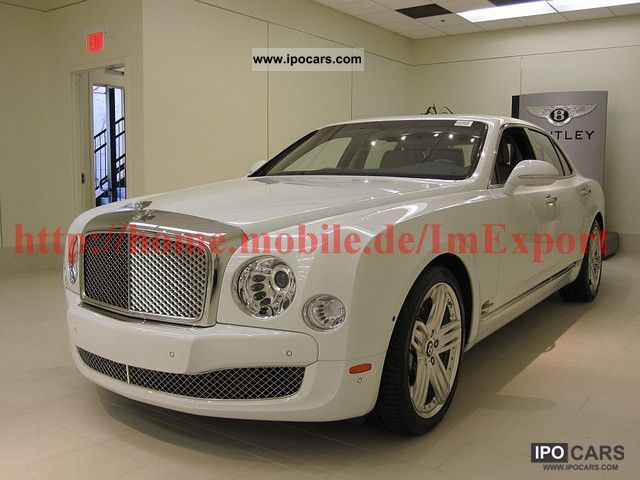 Bentley  2012 Mulsanne, export T1-360.000, $ 00 1925 Vintage, Classic and Old Cars photo