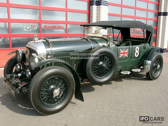 Bentley  LE MANS EIGHT 1952 Vintage, Classic and Old Cars photo