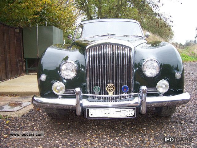 Bentley  Continental S1 Fastback 1957 Vintage, Classic and Old Cars photo